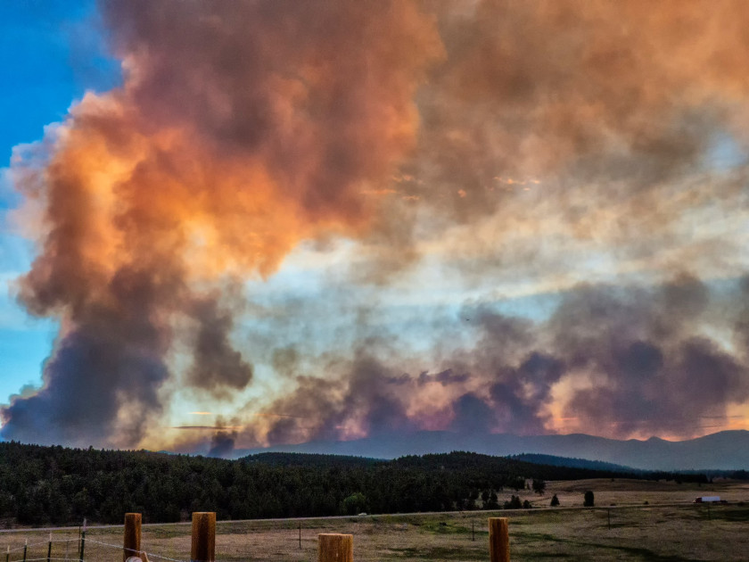 Colorado Current Fire Map